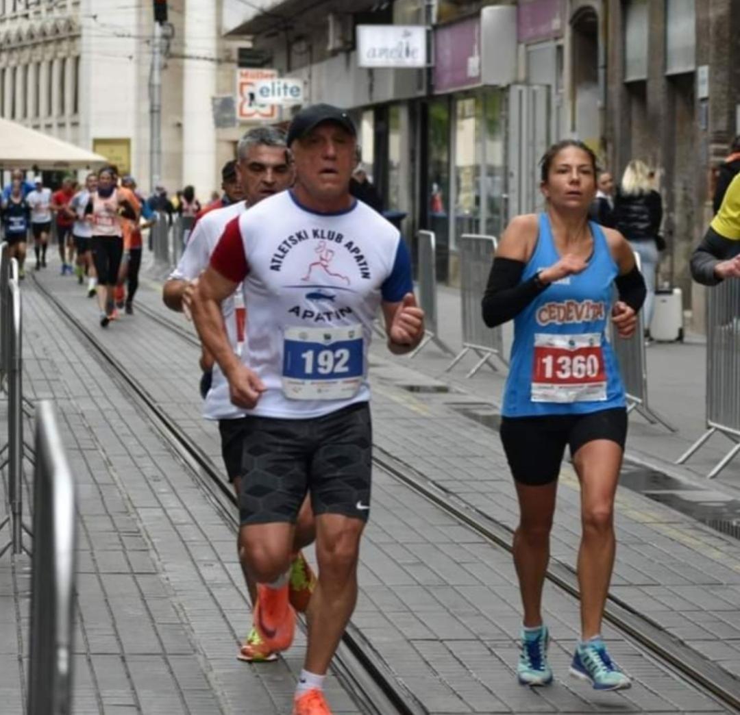 Vejin Predrag Zagrebacki maraton